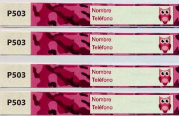 Pulseras Identificativas REF.P503